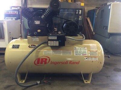 10 Hp Ingersoll Rand Industrial Air Compressor