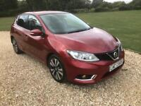 2015 (15) Nissan Pulsar 1.5dCi ( 110ps ) ( s/s ) N-tec 1 PRIVATE OWNER SUPERB