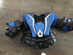 Plastron Gardien de but Vaughn - Junior - grandeur XL