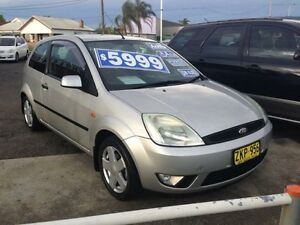2004 Ford Fiesta WP Zetec Silver 4 Speed Automatic Hatchback Broadmeadow Newcastle Area Preview
