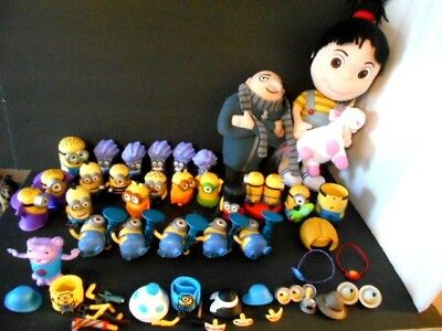 Despicable Me Lot of Minions Plus Agnes Doll, Felonious Gru Doll Huge Lot (Despicable Me Felonious Gru)