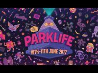 PARKLIFE MUSIC FESTIVAL TICKETS HEATON PARK