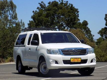 2011 Toyota Hilux GGN15R MY12 SR Xtra Cab 4x2 White 5 Speed Automatic Utility Enfield Port Adelaide Area Preview
