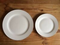 Royal Worcester Serendipity Gold, side and dinner plates