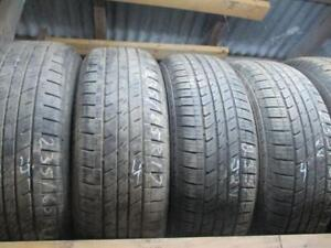 24565R17 SET OF 4  USED MICHELIN A/S TIRES