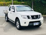 2012 Nissan Navara D40 MY12 ST (4x4) White 6 Speed Manual Dual Cab Pick-up Kenwick Gosnells Area Preview