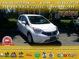 2016 Nissan Versa Note SV-Backup Cam-Bluetooth-AUX/USB