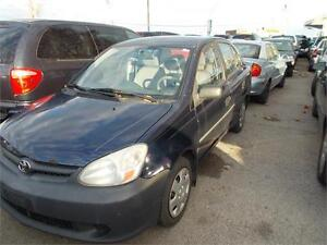2003 Toyota Echo RUNS AND DRIVES AS-TRADED AS-IS