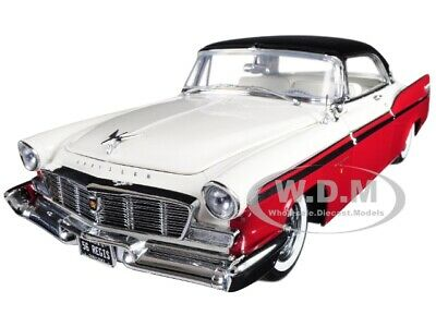 1956 CHRYSLER NEW YORKER ST. REGIS RED 1/18 DIECAST MODEL CAR BY ACME A1809001