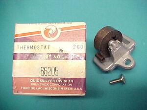 66205 Mercruiser Quicksilver Choke Thermostat Coil GM V8 4.3L V6
