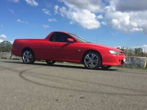 2003 Holden Ute VY II S Utility 2dr Man 5sp 3.8i Red Manual Utility