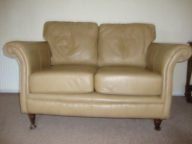 2 Seater leather sofa excellent condition.
