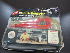 Electric Engraver - never used