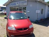 2007 Pontiac Wave SE Fully Certified and Etested!