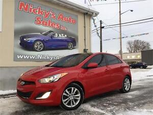 2013 Hyundai Elantra GT, HATCH, PANO ROOF, ALLOY WHEELS, LOADED!