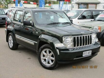 2011 Jeep Cherokee KK MY11 Limited Green 4 Speed Automatic Wagon Gepps Cross Port Adelaide Area Preview
