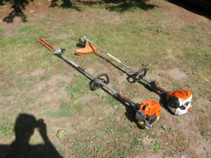 STIHL hedge trimmer&weed eater