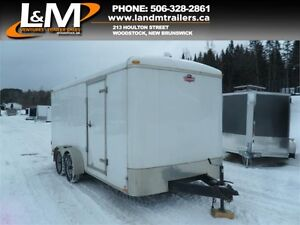 2013 FOREST RIVER 7X16' ENCLOSED CARGO TRAILER