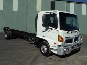 HINO 2008 FD CAB CHASSIS Armidale City Preview