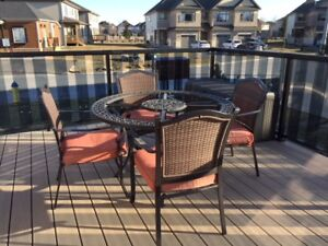SPECIAL DEAL ON PATIO SET