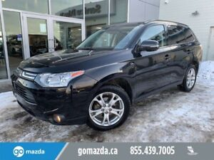 2014 Mitsubishi Outlander GT AWC LEATHER SUNROOF 7 PASS V6