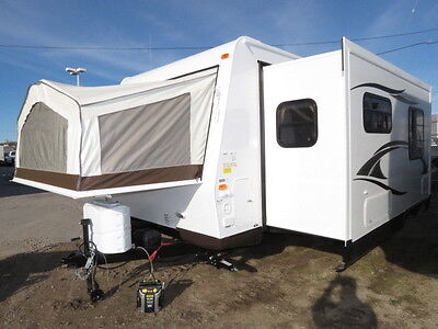 NEW 2014 ROCKWOOD ROO 21SS HUGE SLIDEOUT LIGHT WEIGHT HYBRID RV FIBERGLASS