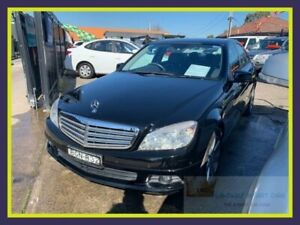 2008 Mercedes-Benz C220 CDI W204 Classic Black Automatic Sedan Lansvale Liverpool Area Preview