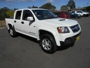 2011 Holden Colorado RC MY11 LX-R (4x4) White 4 Speed Automatic Crew Cab Pickup Bankstown Bankstown Area Preview