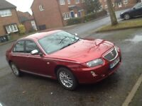 Rover 75 Connoisseur SE with 1 year MOT