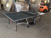 Dunlop Evo 4000 Indoor Table Tennis Table - Pre-Built - New Condition