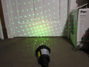 Holiday Red and Green Laser Projector