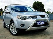 2009 Mitsubishi Outlander ZG MY09 XLS Luxury Silver 6 Speed Constant Variable Wagon Morley Bayswater Area Preview