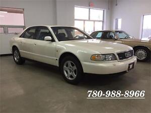 1997 Audi A8 quattro, 1 owner, BC, low kms, AWD, V8 !!!