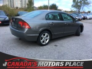 2008 Honda Civic Sdn LX LX - AUX IN, DIGITAL DISPLAY, 5 SPEED