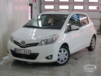 2012 Toyota Yaris - left-side drive, automatic, Sweden registered