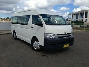 2008 Toyota HiAce KDH223R MY07 Upgrade Commuter White 4 Speed Automatic Bus Sylvania Sutherland Area Preview