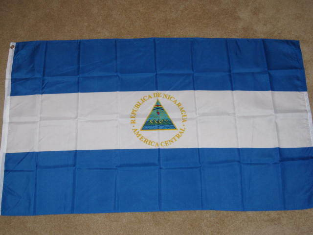 3X5 NICARAGUA FLAG CENTRAL AMERICA FLAGS NEW F529