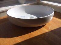Beautiful oval ceramic sink