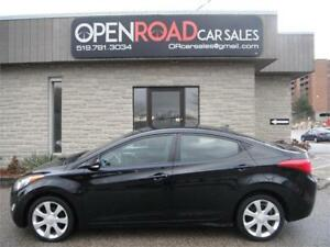 2011 Hyundai Elantra Limited* NAV* LEATHER* SUNROOF* BACK UP CAM
