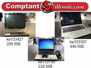 Un portable de qualité à prix populaire et c`est garantie 30 jours Chez Comptantillimite.com