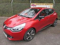 Renault Clio 1.5 Dynamique S MediaNav DCi 90 Turbo Diesel 5DR (flame red) 2014