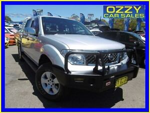 2006 Nissan Navara D40 ST-X (4x4) Silver 6 Speed Manual Dual Cab Pick-up Penrith Penrith Area Preview