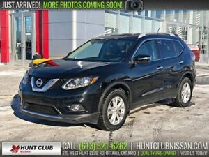 2014 Nissan Rogue SV AWD | Rear Camera, Htd Seats, Pano Moonroof