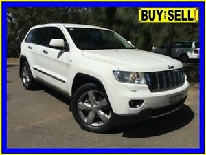 2011 Jeep Grand Cherokee WK Limited (4x4) White 5 Speed Automatic Wagon Lansvale Liverpool Area Preview
