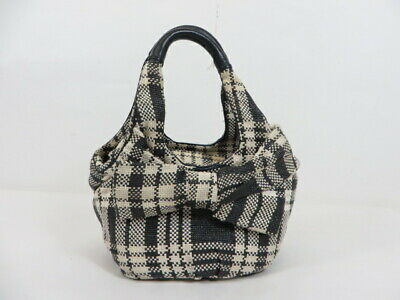 Kate Spade Plaid Bow Mini Handbag