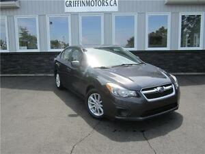 2012 Subaru Impreza Touring only 124 B/W tax in