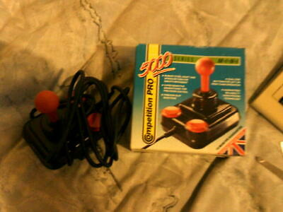 Amiga/Atari Mini Competition Pro 5000 boxed Joystick tested VGC possibly unused
