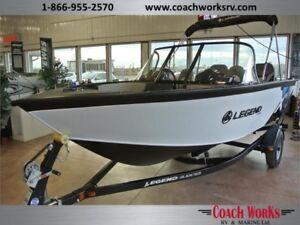 2017 Legend Boats X18 Fish & Ski Welded Hull $150 Bi Weekly