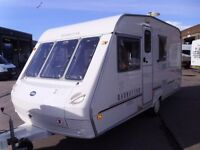 Abi Ace Manhatton 470/4 IDEAL STARTER CARAVAN.