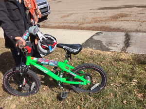 boy bikes for 4-5 years (2wheels)